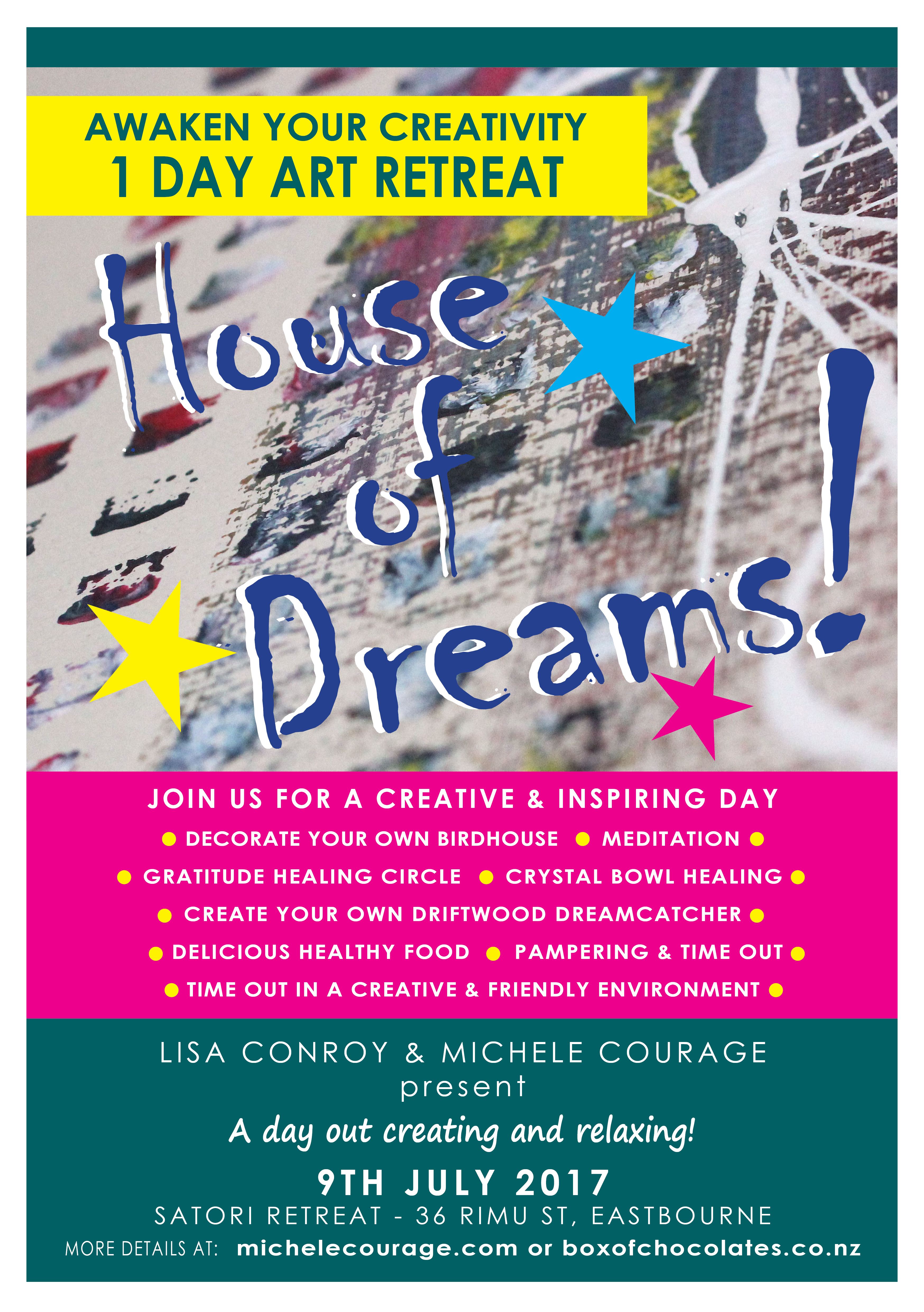 Join us on our House of Dreams - 1 Day ART retreat