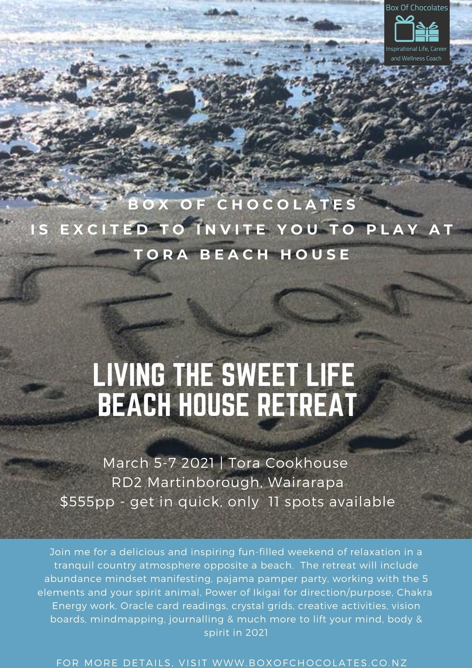 Living the Sweet Life Beach House Retreat