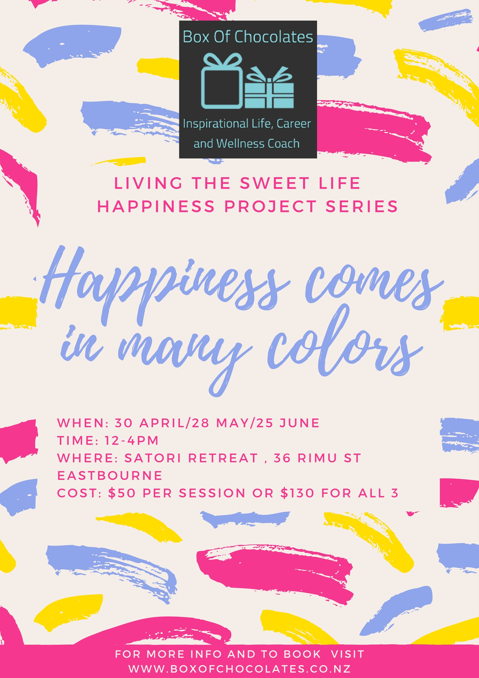 Living the Sweet Life - Happiness Project Series